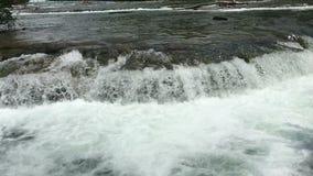 尼亚加拉河流程 股票录像