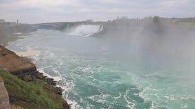 尼亚加拉河,加拿大 股票视频
