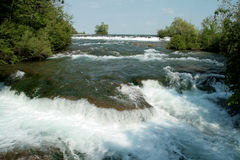 尼亚加拉河 库存图片