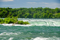 尼亚加拉河 库存照片