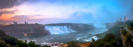 尼亚加拉瀑布公园看法  库存照片