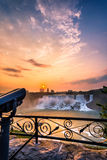 尼亚加拉瀑布公园看法  库存图片