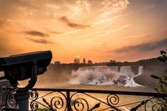 尼亚加拉瀑布公园看法  图库摄影