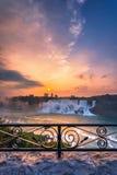尼亚加拉瀑布公园看法  免版税库存照片