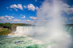 尼亚加拉瀑布在加拿大 库存照片
