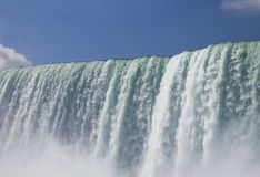 尼亚加拉瀑布夏时 免版税库存图片