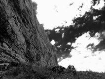 尼亚加拉瀑布峭壁 库存图片