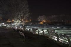 尼亚加拉瀑布桥梁 免版税图库摄影