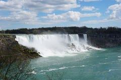 尼亚加拉瀑布瀑布 库存照片