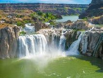 尼亚加拉瀑布爱达荷 库存照片