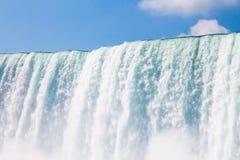 尼亚加拉瀑布的美国边 免版税图库摄影