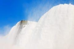 尼亚加拉瀑布的美国边 库存图片