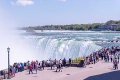 尼亚加拉瀑布,安大略加拿大 免版税库存图片