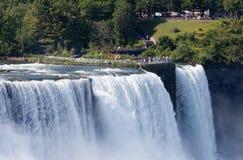 尼亚加拉瀑布,美国 免版税库存照片