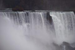 尼亚加拉瀑布细节 库存图片