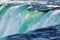 尼亚加拉秋天马掌 安大略 加拿大 背景美丽的瀑布 库存照片