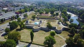 巴尼亚卢卡-堡垒Kastel 免版税库存照片