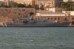 尼亚夫P52爱尔兰海军近岸巡逻艇 免版税库存照片