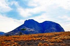 尼亚萨省省Landscape_Northern莫桑比克 图库摄影