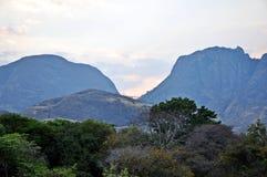 尼亚萨省省Landscape_Northern莫桑比克 免版税库存照片
