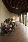 尼加拉瓜吉他的课程 免版税图库摄影
