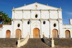 尼加拉瓜,在旧金山churchin格拉纳达的看法 免版税库存图片