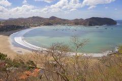 尼加拉瓜 圣胡安del苏尔 小珠靠岸的 库存照片
