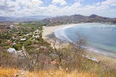 尼加拉瓜 圣胡安del苏尔 小珠靠岸的 库存图片