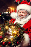 尼古拉斯圣诞老人 库存照片
