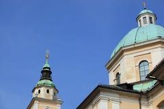 尼古拉斯大教堂细节  库存照片
