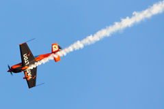 尼古拉斯Ivanoff (哈密尔顿) 航空器:边缘540 库存图片