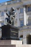 尼古拉・哥白尼纪念碑 库存照片