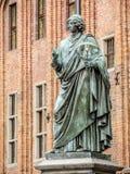 尼古拉・哥白尼雕象 免版税库存图片