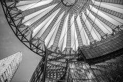 索尼在柏林,德国集中,波茨坦广场 图库摄影