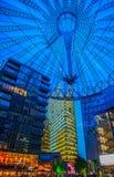 索尼在柏林,德国集中,波茨坦广场 免版税库存照片