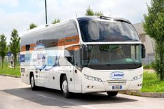 尼奥普兰N1216HD Cityliner 免版税库存照片