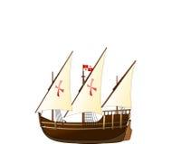 尼娜帆船 免版税库存照片