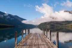 尼尔森湖国家公园新西兰 免版税库存图片