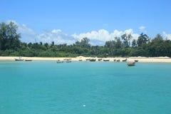 尼尔海岛 库存图片