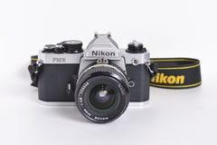 尼康FM2n经典之作照相机 免版税库存照片