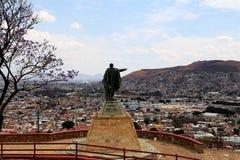 贝尼托帕布鲁Juà ¡ rez看在瓦哈卡的GarcÃa,墨西哥 免版税库存照片