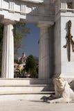 贝尼托Juà ¡ rez半圆形纪念碑,墨西哥城 库存图片