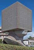 尼斯城市-方形的头 免版税库存图片