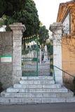 尼斯的公墓 免版税库存照片