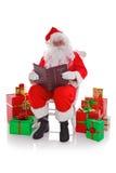 尼斯的圣诞老人淘气或 库存图片