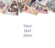 尼日利亚金钱框架 库存照片