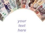尼日利亚金钱框架 图库摄影