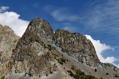 尼泊尔喜马拉雅山山 图库摄影