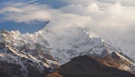 尼泊尔喜马拉雅山 免版税库存图片