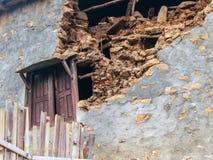 尼泊尔地震 库存图片